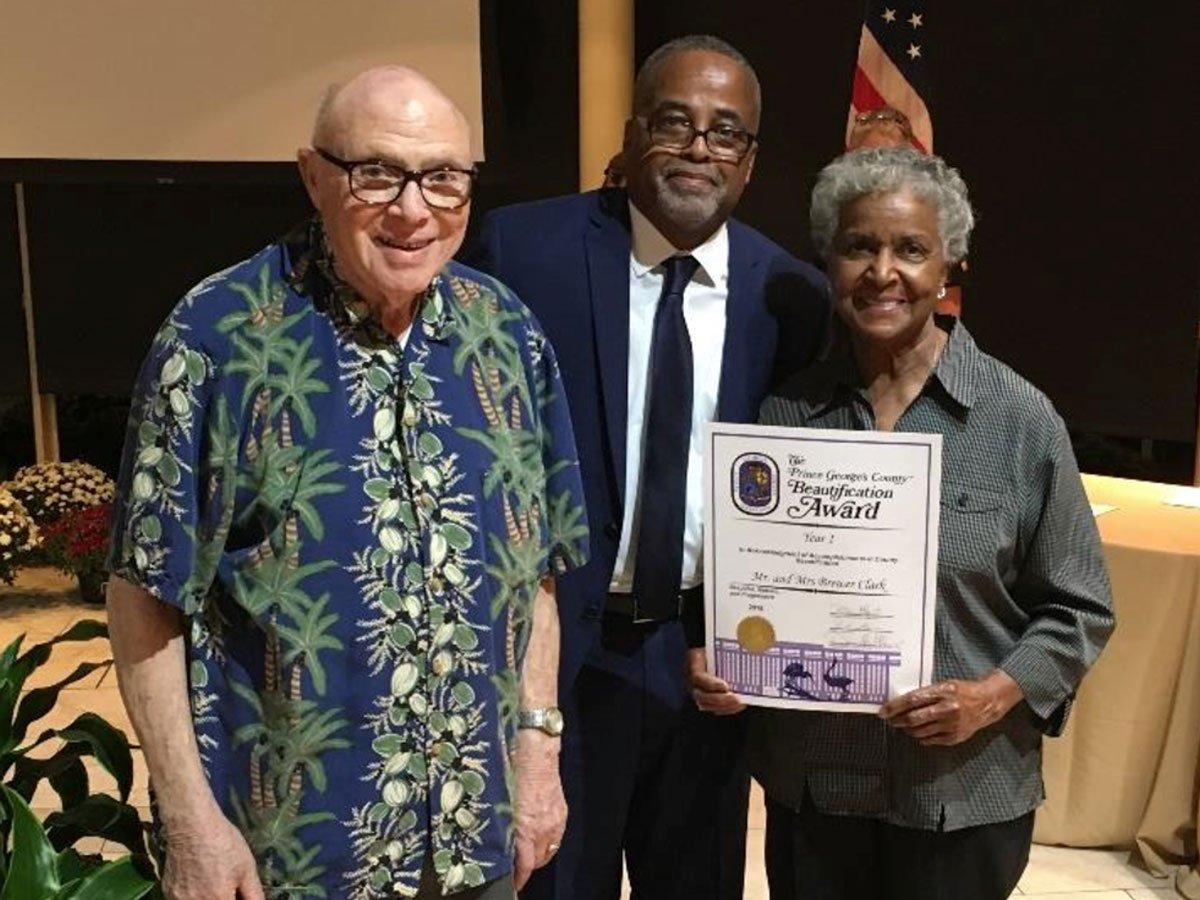 Beautification Certificate Awardee